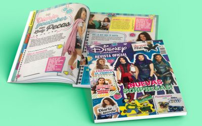 Lady Pecas en la revista Disney Channel