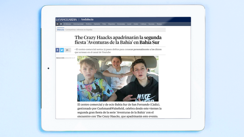 The Crazy Haacks en La Vanguardia