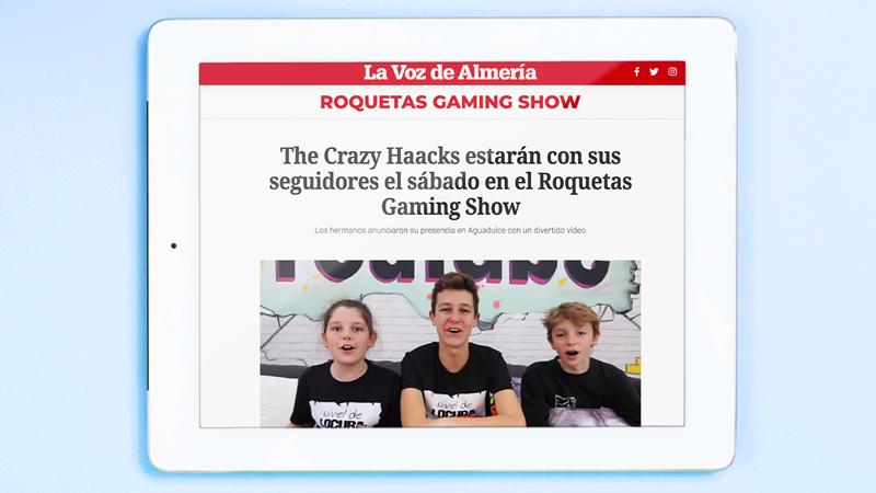 The Crazy Haacks en La Voz de Almería