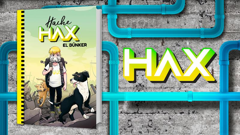 """Publicación """"Hache Hax y el Búnker"""""""
