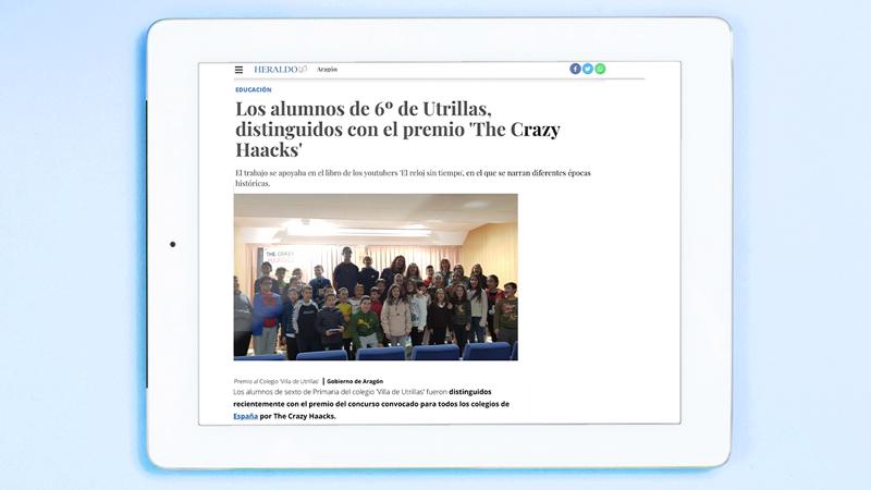 The Crazy Haacks en El Heraldo